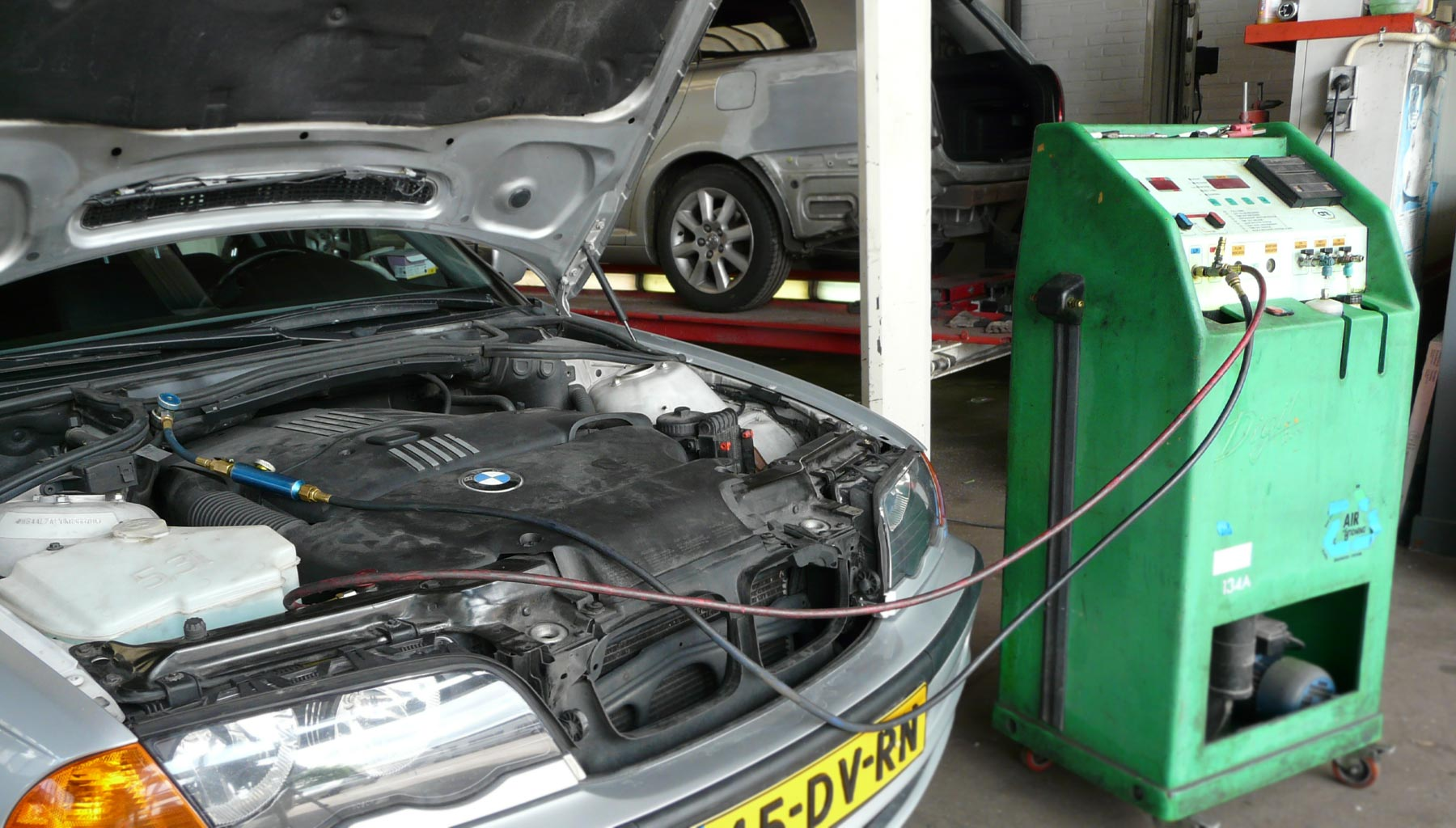 Airco service voor auto of bedrijfswagen