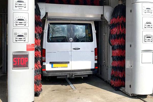 Bedrijfswagen Waskaart Autowasstraat